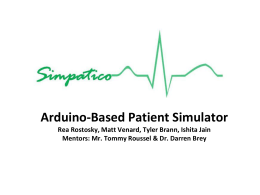 Arduino-Based Patient Simulator Rea Rostosky