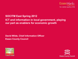 ICT and information in local government