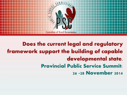Exploring the legal and regulatory framework in the success and