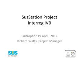 SusStation Project