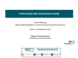 of the Portuguese Guarantee Scheme.