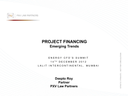 PPT- Project Finance