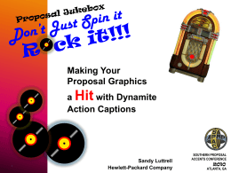 Making Graphics Hit with Dynamite Action Captions
