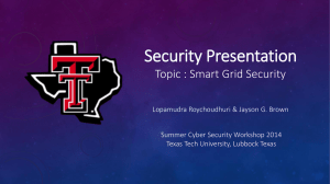 Roychoudhuri-Brown - Texas Tech University Departments