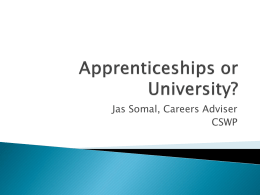 Higher Apprenticeship