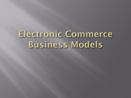 Business Model 2 chapter - E-Help