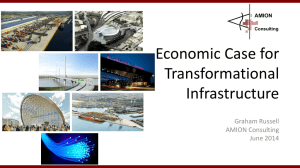 The Economic Case for Transformational Infrastructure