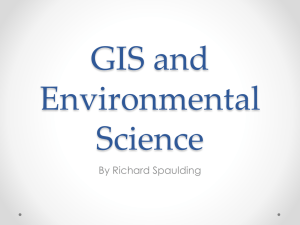 GIS and Environmental Science