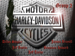 Harley Davidson Group 2