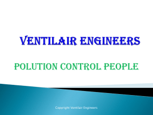 Our Presentation 1 - Ventilair Engineers