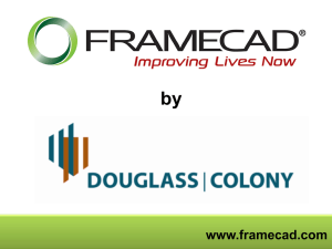 the FrameCAD® Powerpoint Presentation