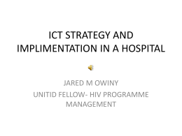 ict strategy and imp..