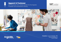 Presentation Apparel & Footwear
