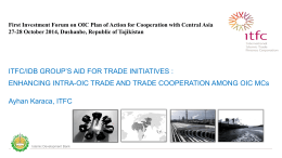 International Islamic Trade Finane Corporation ITFC