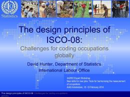 1.1 Hunter ISCO 08 coding workshop