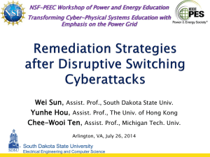 Wei Sun - PEEC Workshop - Electrical and Computer Engineering