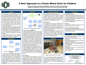 A New Approach to Children Power Wheel Chair-Final