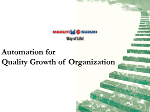 Automation for Quality Growth of Organization