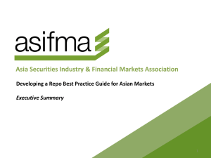 Asia Securities Industry & Financial Markets Association Developing