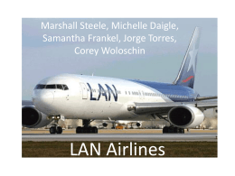 LAN Airlines - Chile Plus 3