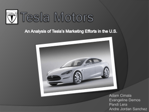 Valuation of Tesla Motors Inc  - StudentTheses@CBS