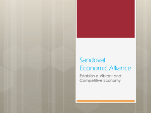 Sandoval Economic Alliance Presentation (NAIOP July 17 2014)