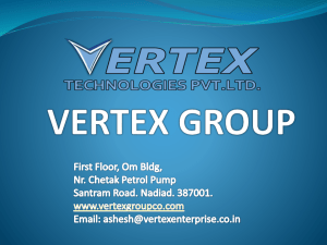 Vertex Group Profile