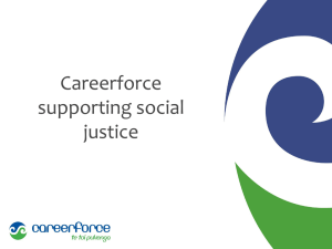 Careerforce - Social Justice in Communities conference