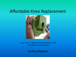Affordable Knee Replacement
