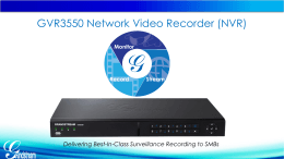An Easy-to-Install NVR with Best-in