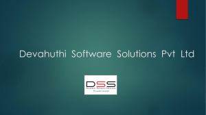 Devahuthi Software Solution*s Pvt Ltd