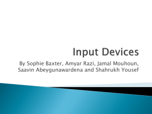 Final Input Devices Presentation