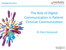 The Role of Digital Communication in Patient