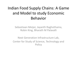 Indian Food Supply Chains
