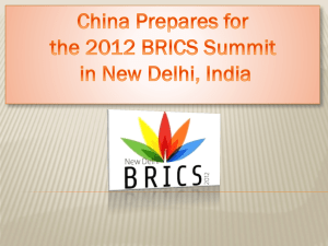 China group BRICS Final Powerpoint
