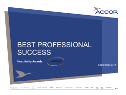Masque PowerPoint Accor horizontal