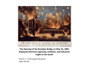 The Expansion of American Industry 1850 - 1900 - wswildcats