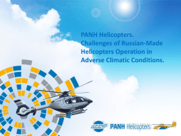 Helicopter Operation in Severe Environmental Conditions