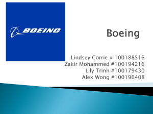 ENTR-3120 Group 4 Presentation Boeing