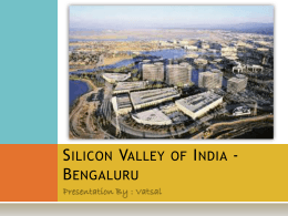 Silicon Valley of India