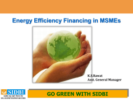 go green with sidbi