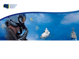 Unmanned Maritime Systems Programme in EDA