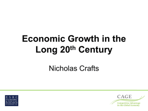 Economic Growth in the Long 20th Century by Nicholas Crafts