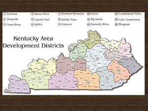 Kentucky`s Area Development Districts