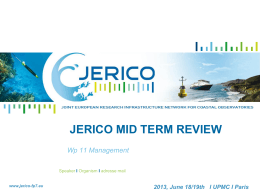 WP11_JERICO MID TERM REVIEW