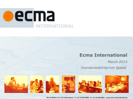 presentingecma - Ecma International