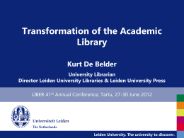 Kurt_De_Belder_Transformation_of_Plenarysession_Struve