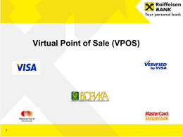 Virtual Point of Sale (V-Pos)
