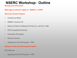 nserc-info-session-may-2014