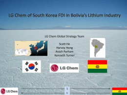 LG Chem Top Competitors in Lithium Battery Industry